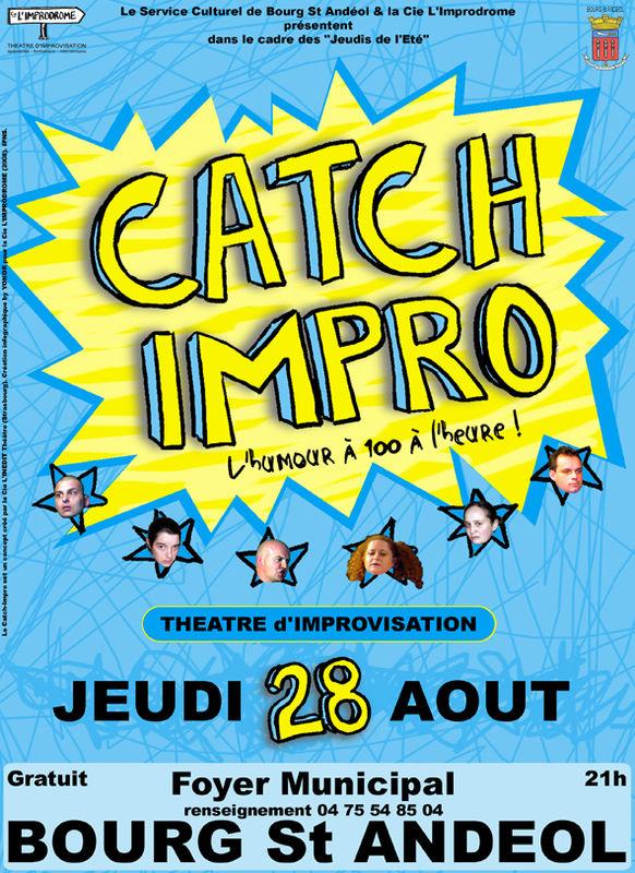 Affiche Catch-Impro 28
