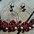 perles rouges creoles