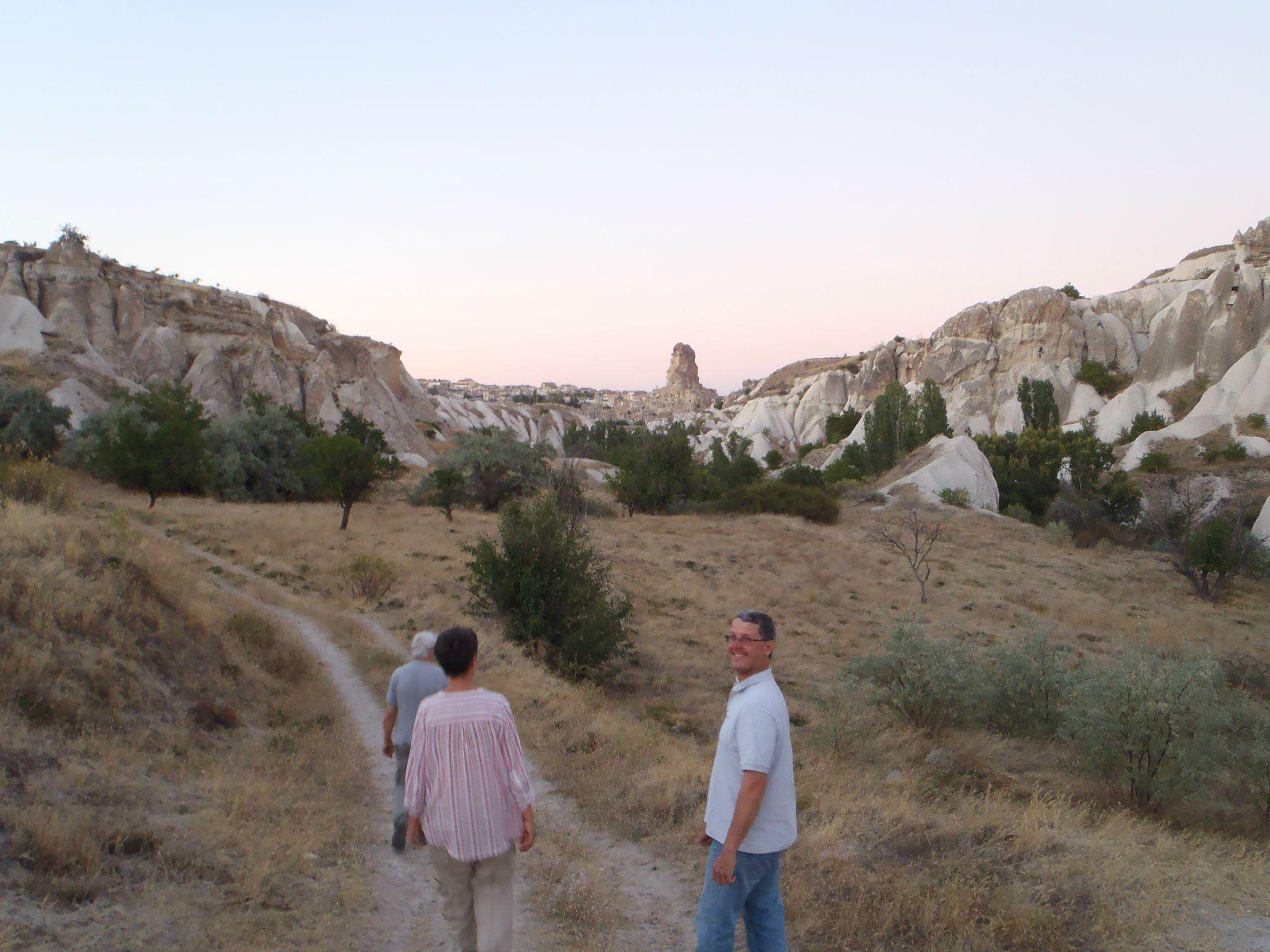 turquie cappadoce fin de balade retour sur le chemin des abricotiers