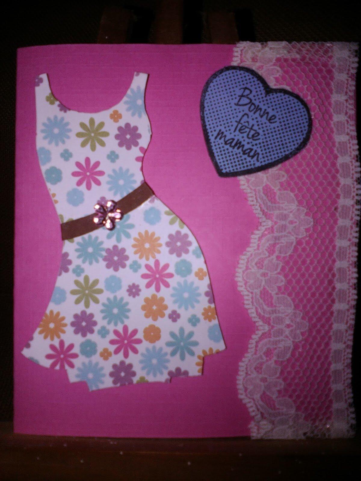 Une robe pour la fête des mères