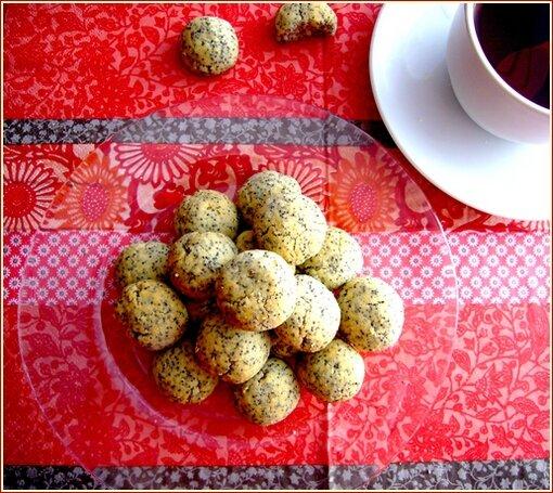 biscuits citron graines de pavot