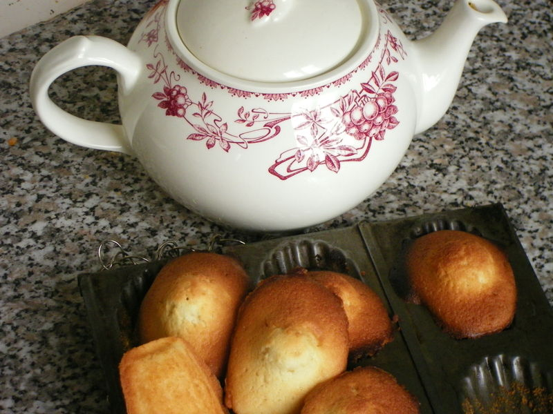 Madeleine made by me !