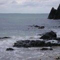 Balade sur la plage du Moulin à <b>Etable</b>-sur-<b>Mer</b> (22)