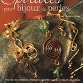 Spirales pour bijoux de perles
