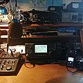 ICOM IC746 : Amélioration de la BF avec micro Tonor <b>BM700</b> et table de mixage equalizer ALTO ZMX52
