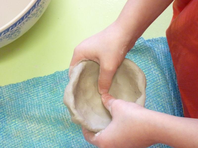 fabrication des cases en pâte durcissante