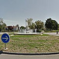 Rond-point à Chevigny-Saint-Sauveur
