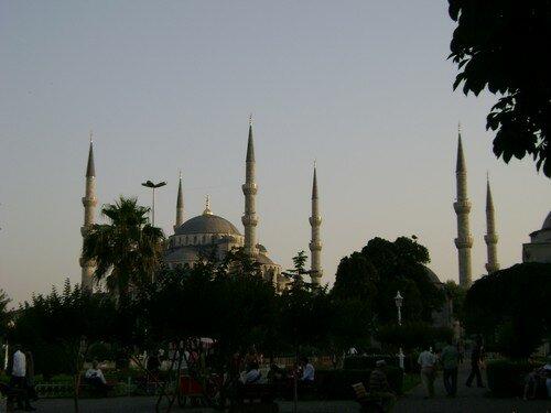 Turquie, Istanbul, Mosquee Bleue