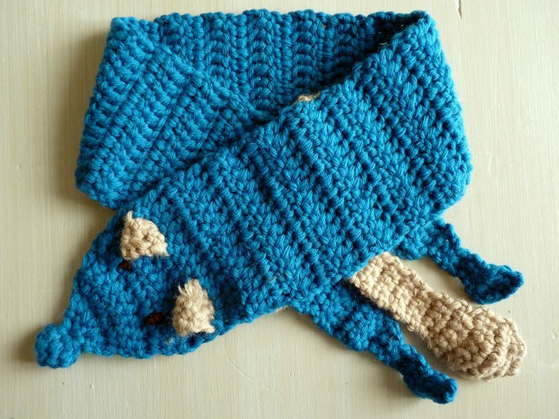 8c4daa00a8b3 Tuto de l écharpe renard au crochet - Something Beautiful