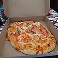 Pizza au homard de Muvbox