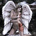 ange blessé