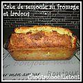 Cake salé à la semoule au fromage et lardons
