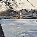 Canal d'Orléans à Combleux (12 Février 2012)