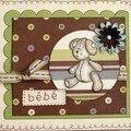 ( carte bébé )