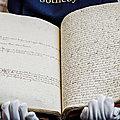 Mobilisation des bibliothèques anglaises pour préserver une collection unique de manuscrits