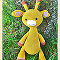 <b>Girafe</b> au crochet (<b>Amigurumi</b>)