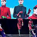LE Défilé des nouveaux uniformes <b>ALITALIA</b> en Video