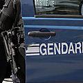 Les gendarmes viennent cueillir le protagoniste d'une rixe au petit matin, ils se font tirer dessus près de Nantes