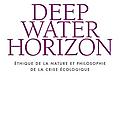 Deepwater horizon : ethique de la nature et philosophie de la crise écologique