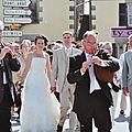 Sonner pour un mariage