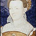 <b>Limosin</b> <b>Léonard</b> (vers 1505-1575) (attribué à), Portrait de Catherine de Lorraine, duchesse de Montmorency