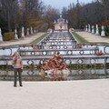 La Granja de San Ildefonso-jardins et moi