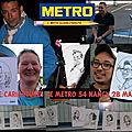 Comité d'entreprise metro 54 nancy meurthe-et-moselle - soirée caricaturiste