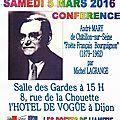 Une conférence marquera, à dijon, le lancement du xviiième printemps des poètes