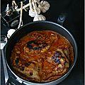 Cuisses de poulet & carottes en sauce balsamique