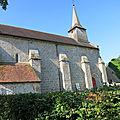 Eglise templiere - <b>BLAUDEIX</b>