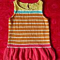 Pop summer girl's dress * la robe acidulée de charlie