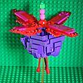 Projet photo 52 - thème 50: jouets - + - fleur de fuchsia
