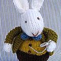 White rabbit in wonderland - dollytime