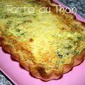 <b>Tarte</b> au thon et au curry