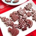Biscuits de noël au chocolat et à la cannelle...