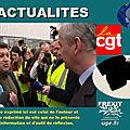 Bruno le maire vivement interpellé par un syndicaliste devant l'usine de mulhouse