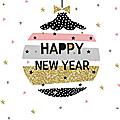 Bonnes fêtes de fin d'année et à l'année prochaine