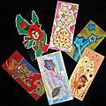 Cartes papier mat récup +déco collages artistiques Ghislaine Letourneur - Création récupération