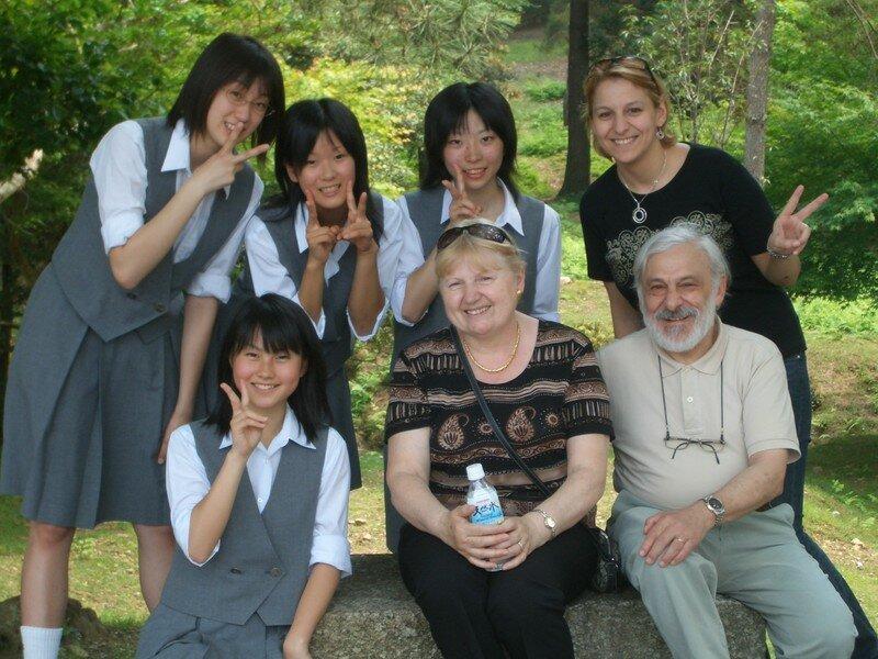 Les lyceennes de Chiba a Nara