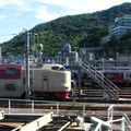 JR 285系 Sunrise Express & 2000系, Takamatsu depot