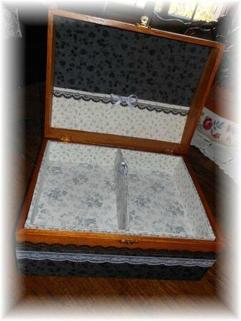Boîte en bois 3