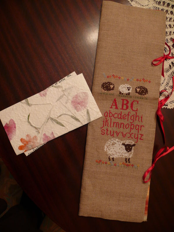 Cadeau reçu d'Annick
