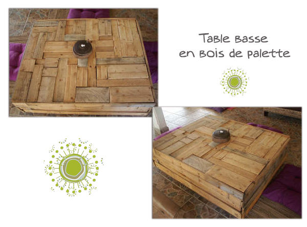 Table basse palette tuto chambre table jardin palette - Table basse en palette tuto ...