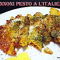 PENNONI GIGANTI <b>PESTO</b> A L'ITALIENNE