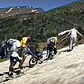 En joëlette à la source du <b>Sègre</b> 2400m – Pyrénées Orientales