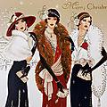 Christmas Ladies par Claire Coxon