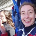 Jihane encore supportrice du stade français!!