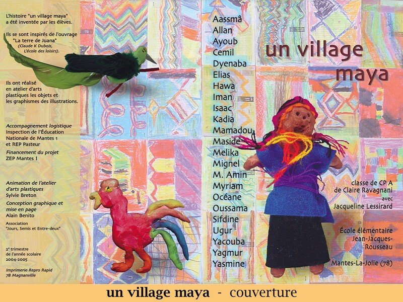 Un village maya - couverture