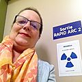 Selfie de la onzième radiothérapie