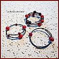 bracelets sur fil mémoire